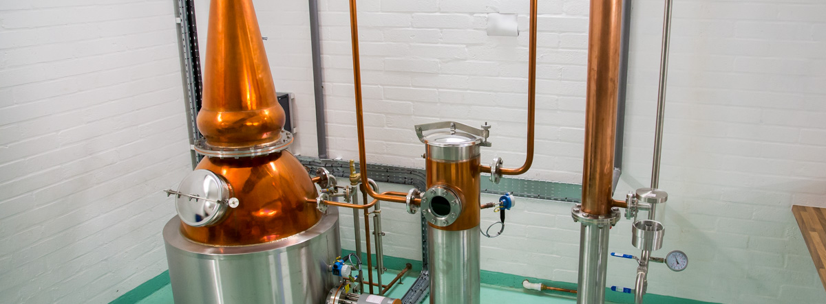 copper gin still